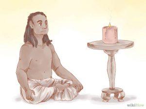 posizione meditazione